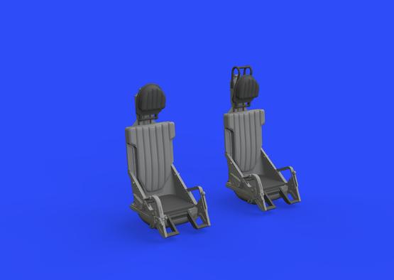 L-29 кресла пилотов 1/48  - 3