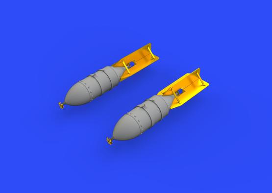 FAB 500 Soviet WWII bombs 1/48  - 3