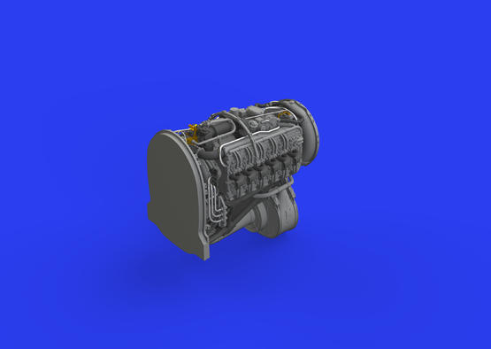 Tempest Mk.V двигатель 1/48  - 3