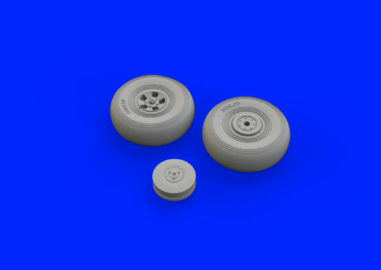 Tempest Mk.V wheels early 1/48  - 3