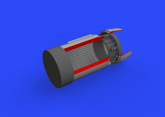 МиГ-23МЛ сопло двигателя 1/48  - 2