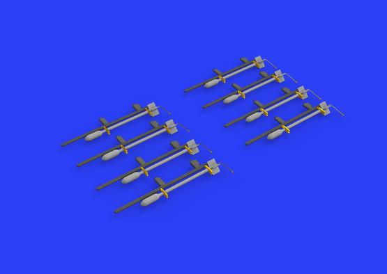 RP-3 60lb rakety pro Tempest Mk.V 1/48  - 3