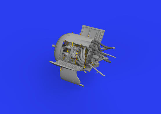 Fw 190A-8 двигатель 1/48  - 3