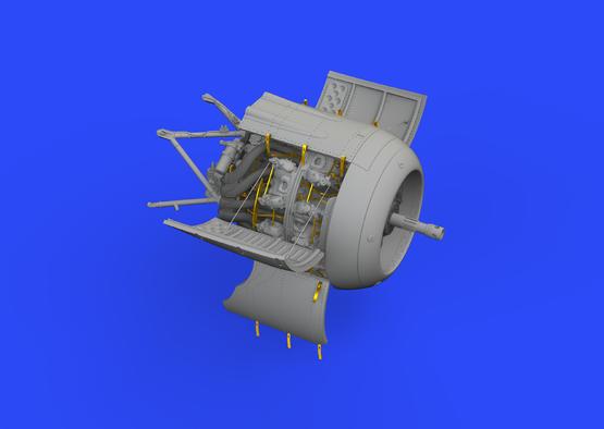 Fw 190A-8/R2 engine 1/48  - 3