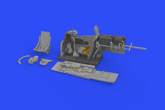 P-51D-5 コクピット 1/48  - 3