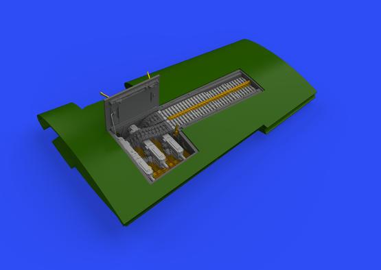 P-51D 機関砲収納室 1/48  - 3