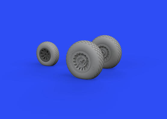 A-26/B-26 Invader wheels 1/48  - 3