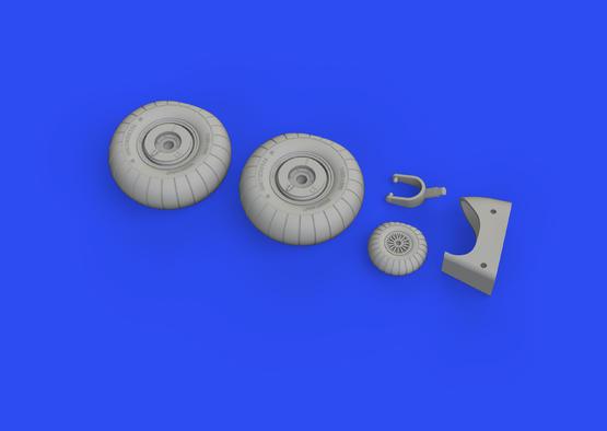 Do 17Z wheels 1/48  - 3