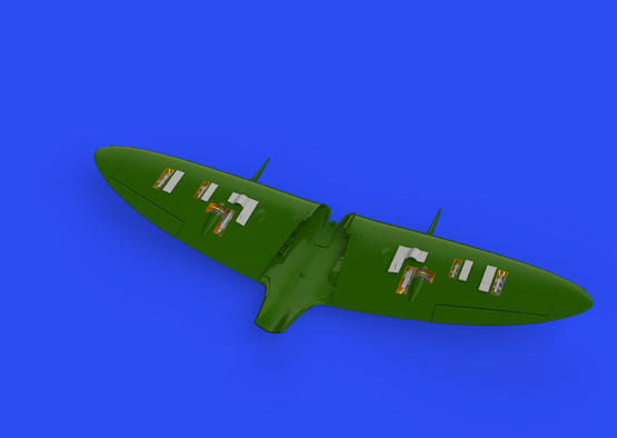 Spitfire Mk.IIb gun bays 1/48  - 3