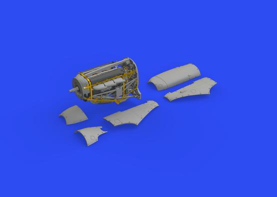 Spitfire Mk.II engine 1/48  - 3