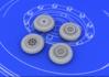 MiG-15 wheels 1/72 - 3/4