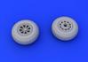 P-51 wheels 1/72 - 3/3