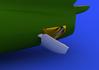 MiG-15 airbrakes 1/72 - 3/6