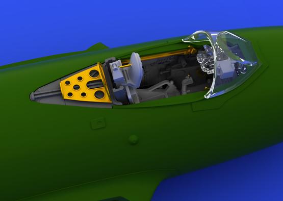 MiG-15 cockpit 1/72  - 3
