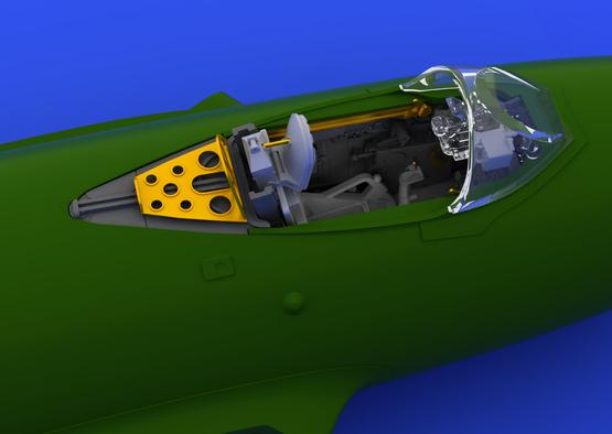 MiG-15bis cockpit 1/72  - 3