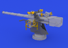 German Submarine 8,8cm gun 1/72 - 3/7