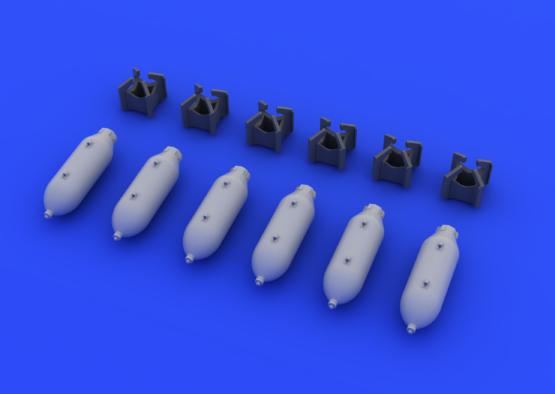 US 250lb bombs 1/72  - 3