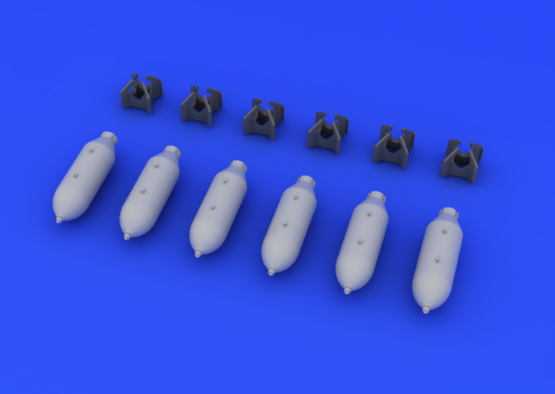 US 500lb bombs 1/72  - 3