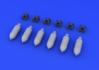 US 500lb bombs 1/72 - 3/3