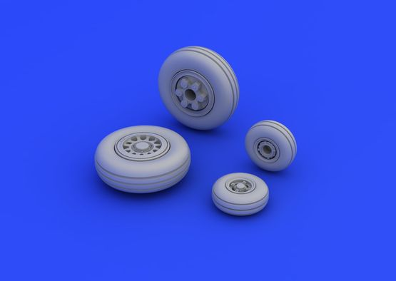 JAS-39 wheels 1/72  - 3