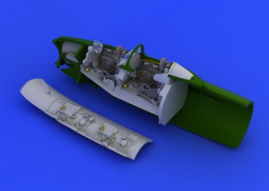 UTI MiG-15 kokpit 1/72  - 3