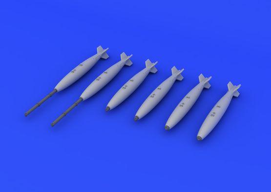 Mk.82 бомбы 1/72  - 3