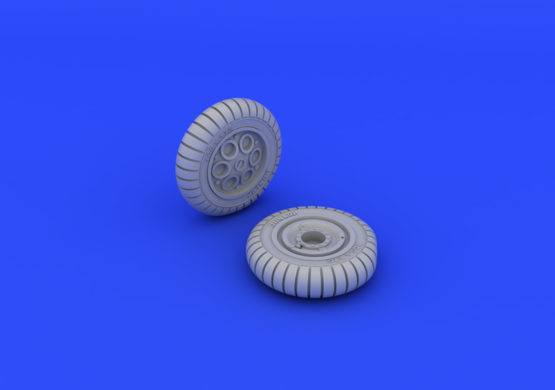 Fw 190A wheels early 1/72  - 3