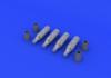 UB-16 rocket pods 1/72 - 3/4