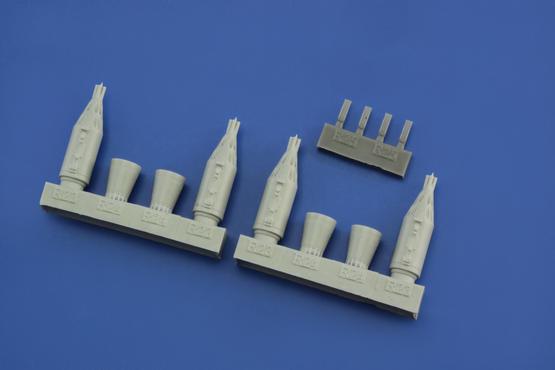 UB-32 rocket pods 1/72  - 3