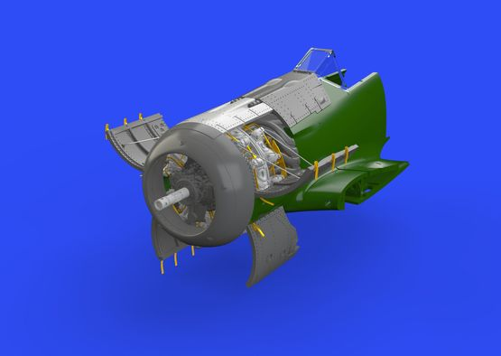 Fw 190A-5 engine 1/72  - 3