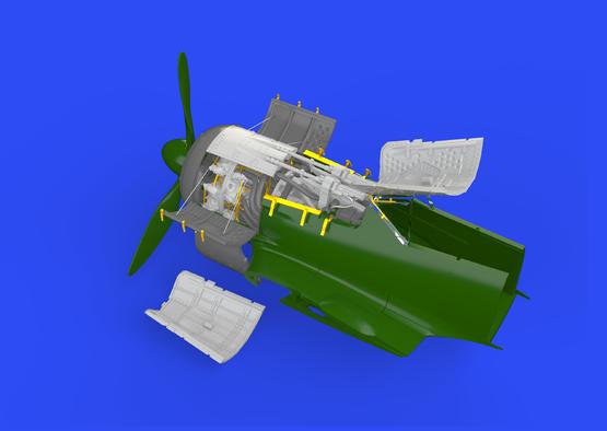 Fw 190A-5 engine & fuselage guns 1/72  - 3