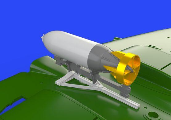 Spitfire 500lb bomb set 1/72  - 3