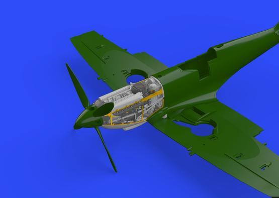 Spitfire Mk.IX двигатель 1/72  - 3