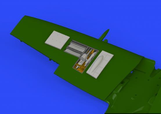 Spitfire Mk.XVI gun bays 1/72  - 3