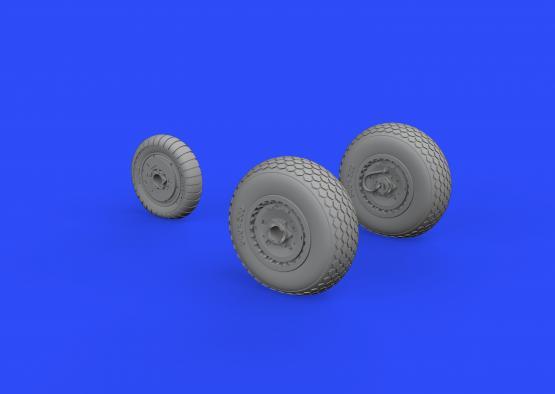 Me 262 wheels 1/72  - 3