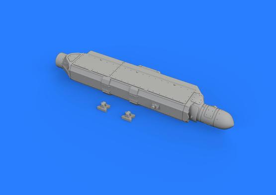 AN/ALQ-131(ディープ)ECM ポッド 1/72  - 3