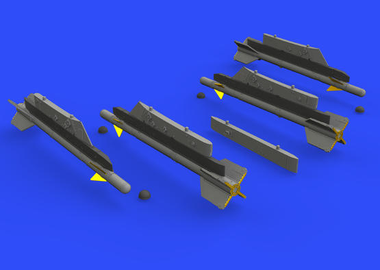 R-3S missiles w/ pylons for MiG-21 1/72  - 3