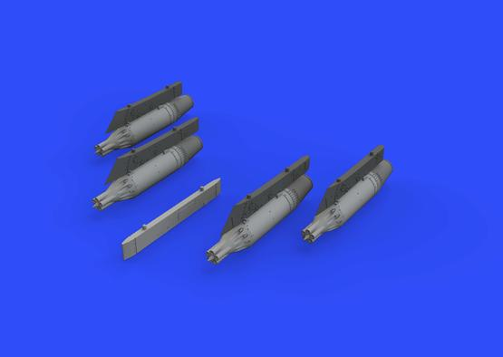 UB-16 rocket launchers w/ pylons for MiG-21 1/72  - 3