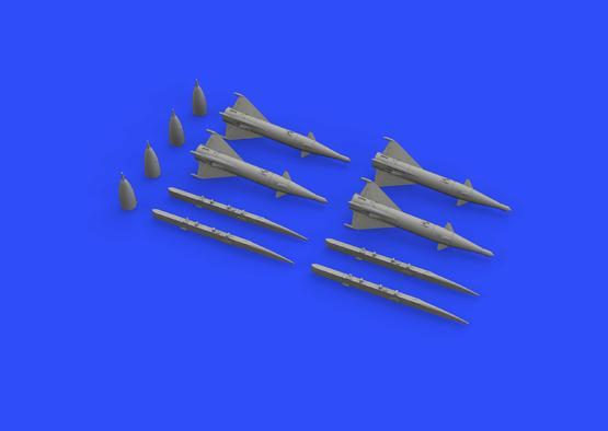РС-2УС ракеты для МиГ-21 1/72  - 3