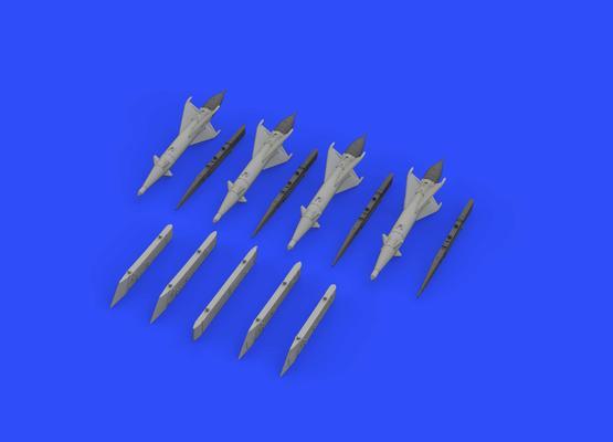 RS-2US střely a pylony pro MiG-21 1/72  - 3