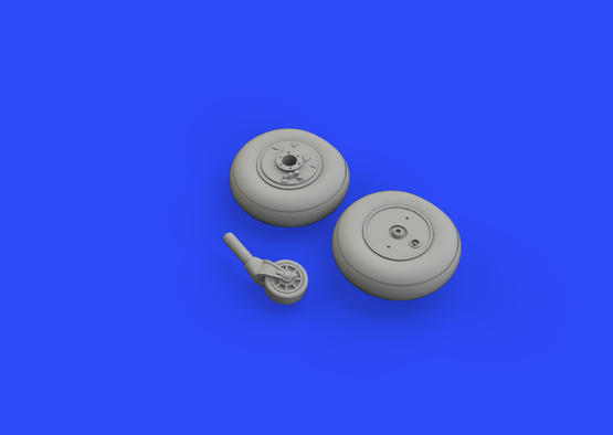 Ki-61-Id wheels 1/72  - 3