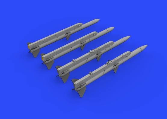 AIM-120A/B AMRAAM 1/72  - 3