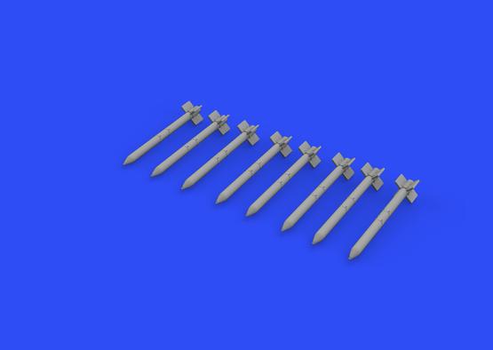 HVAR rockets 1/72  - 3