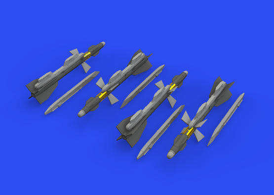 R-27T/T1 / AA-10 Alamo-B 1/72  - 3