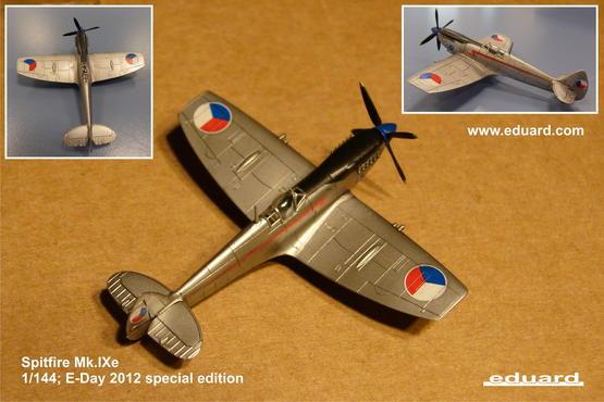 Spitfire Mk.IXe 1/144  - 3