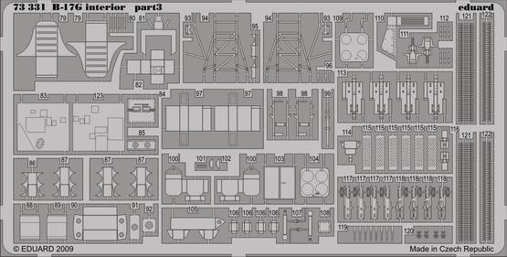 B-17G interior S.A. 1/72  - 3