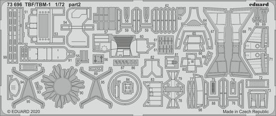 TBF/TBM-1 Avenger 1/72  - 3