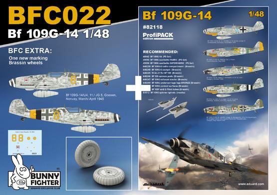 Bf 109G-14 1/48  - 3