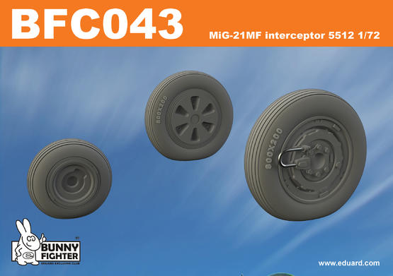 MiG-21MF interceptor 5512 1/72  - 3