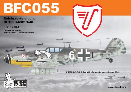 Reichsverteidigung Bf 109G-6 1/48  - 3